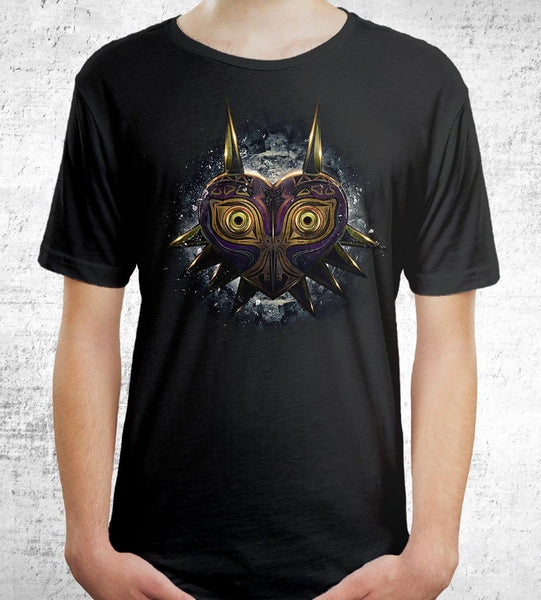 Majora's Mask Men's Shirt by Barrett Biggers - Pixel Empire