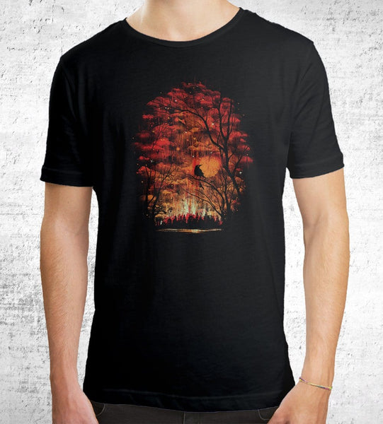 Burning In The Skies Men's Shirt by Robson Borges - Pixel Empire