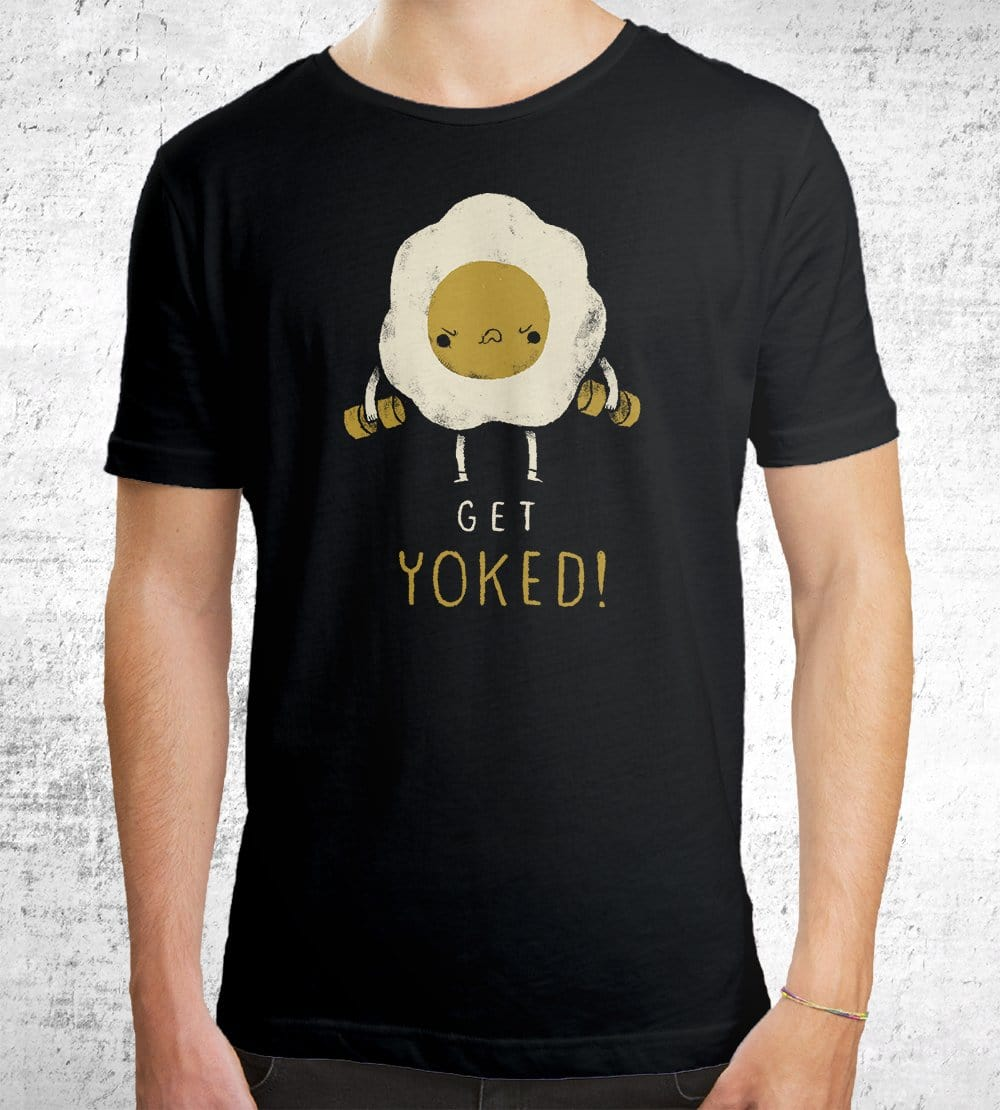 Yoked Gym T-Shirts by Louis Roskosch - Pixel Empire