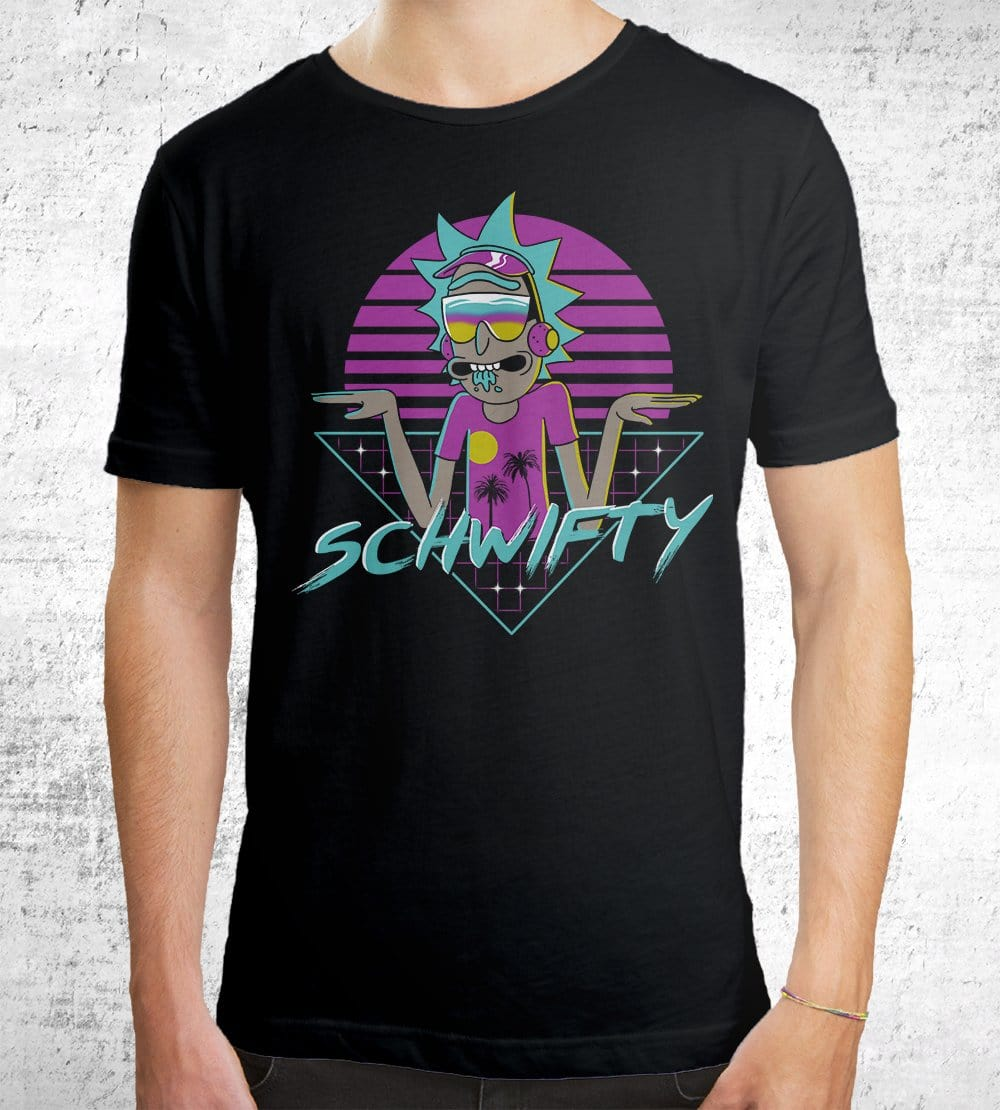 Rad Schwifty T-Shirts by Vincent Trinidad - Pixel Empire