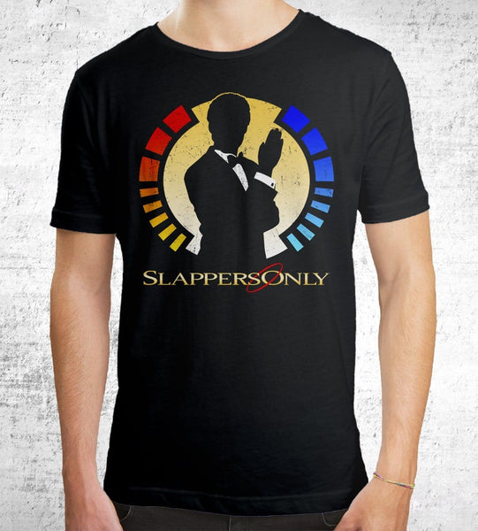 Slappers Only T-Shirts by Cory Freeman Design - Pixel Empire