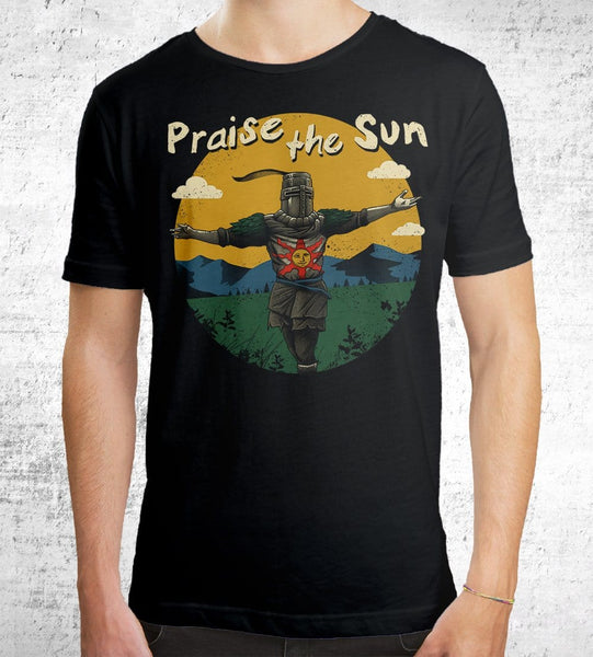 Praise The Sun Men's Shirt by Vincent Trinidad - Pixel Empire