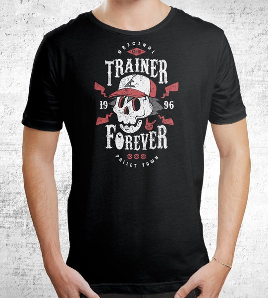 Trainer Forever Men's Shirt by Olipop - Pixel Empire