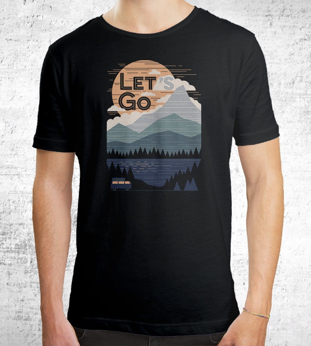 Let's Go T-Shirts by Rick Crane - Pixel Empire