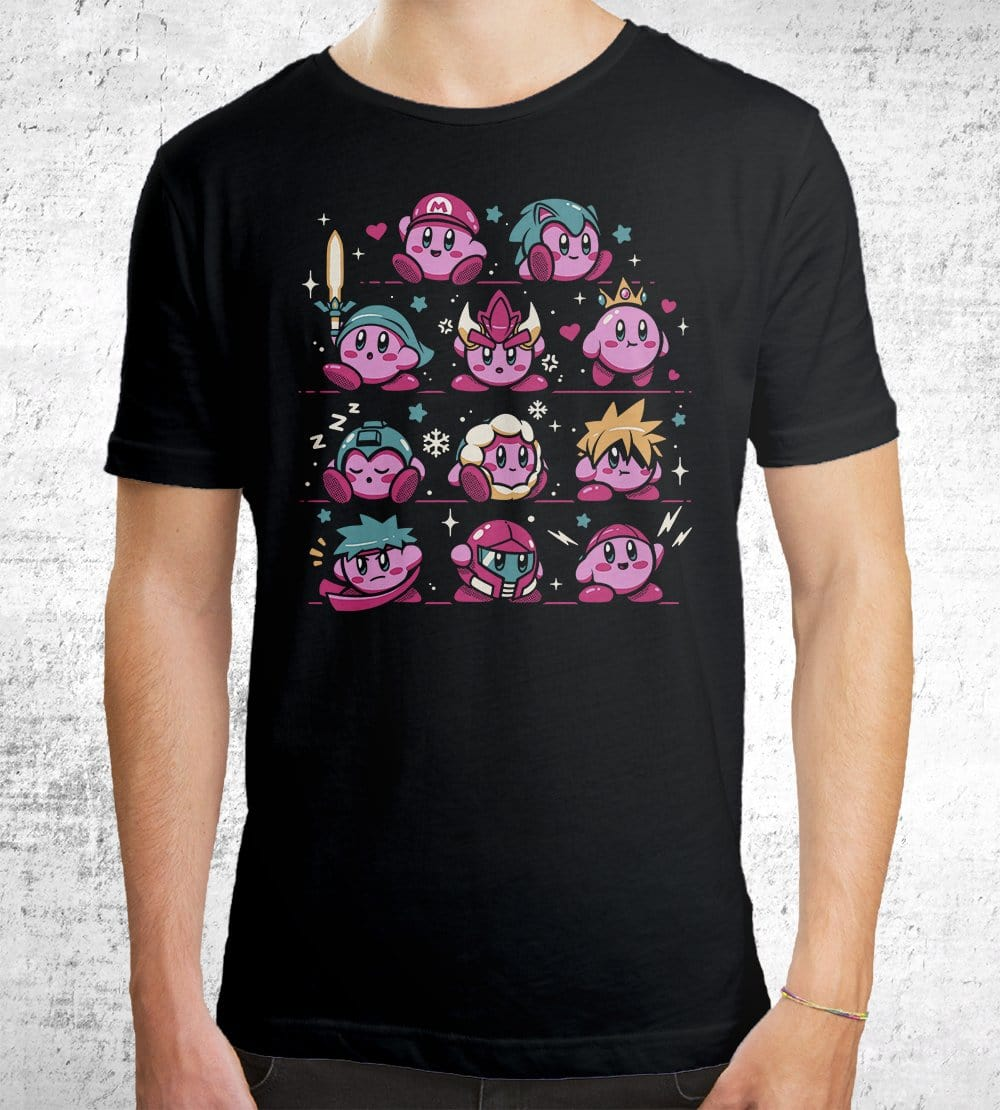 Pink Warriors T-Shirts by Ilustrata - Pixel Empire