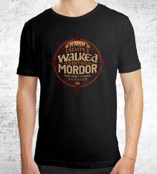 Walked Into Mordor Men's Shirt by Cory Freeman Design - Pixel Empire