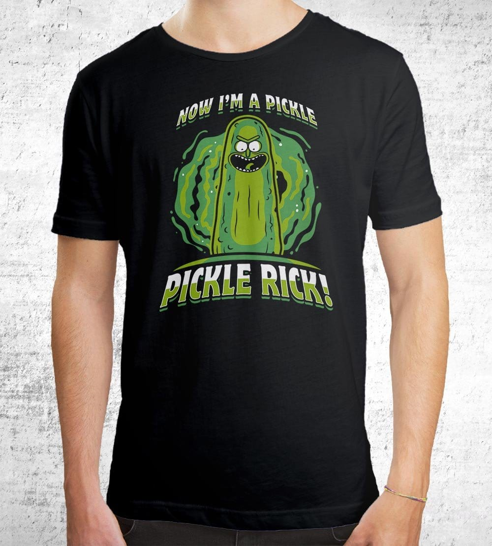 Now I'm A Pickle T-Shirts by Olipop - Pixel Empire
