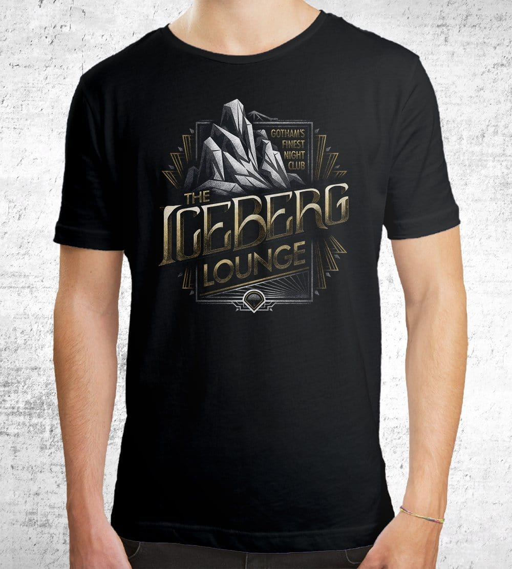 Iceberg Lounge T-Shirts by Cory Freeman Design - Pixel Empire
