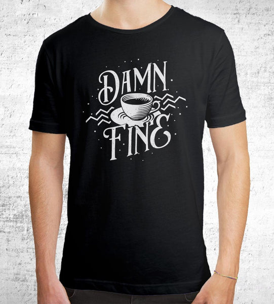 Damn Fine Coffee T-Shirts by Barrett Biggers - Pixel Empire