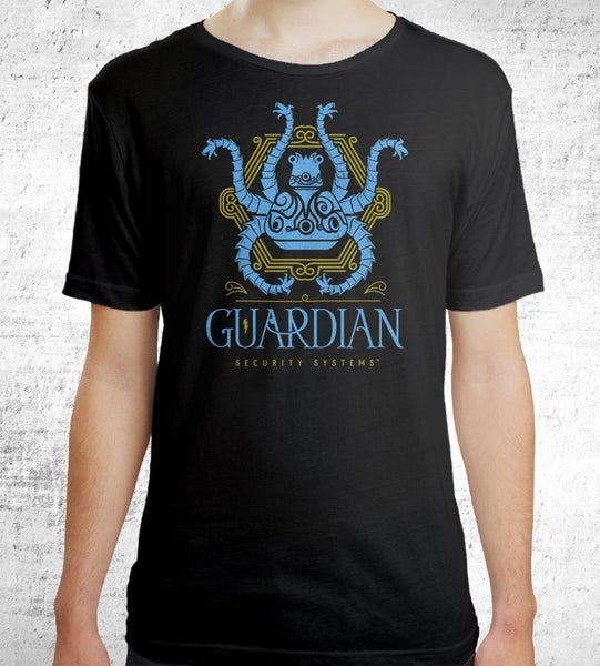 Guardian Security Systems Men's Shirt by Barrett Biggers - Pixel Empire