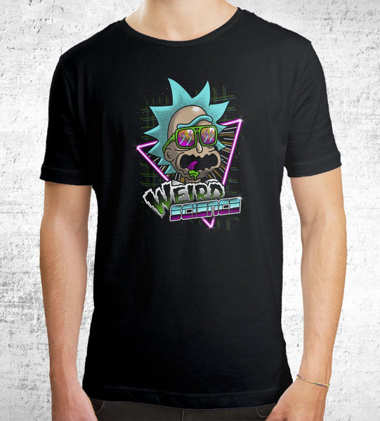 Weird Science Men's Shirt by Vincent Trinidad - Pixel Empire