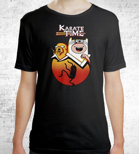 Karate Time Men's Shirt by Olipop - Pixel Empire