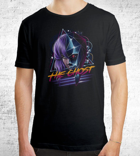 Cyber Ghost Men's Shirt by Vincent Trinidad - Pixel Empire
