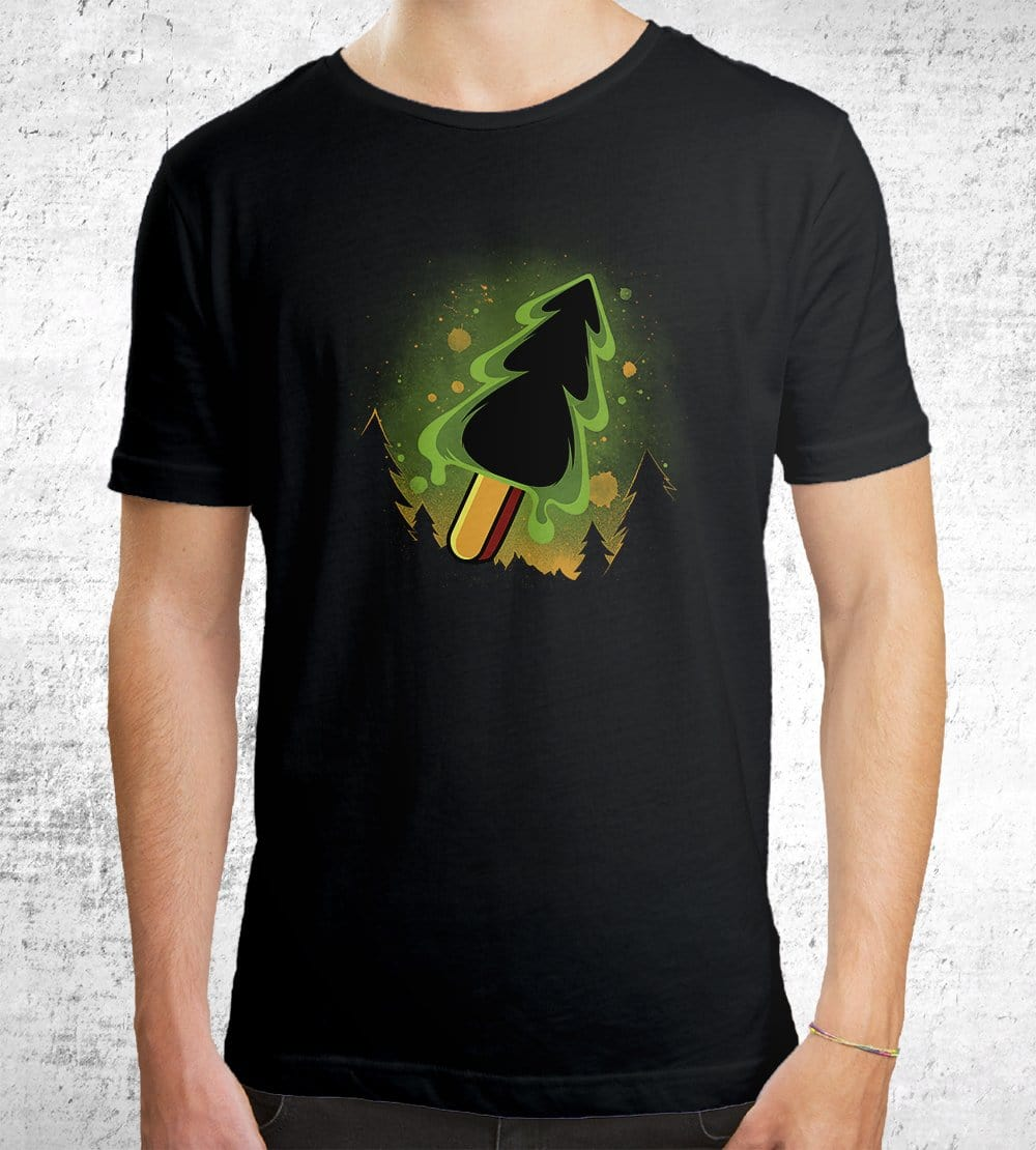 Treesicle Logo T-Shirts by Treesicle - Pixel Empire