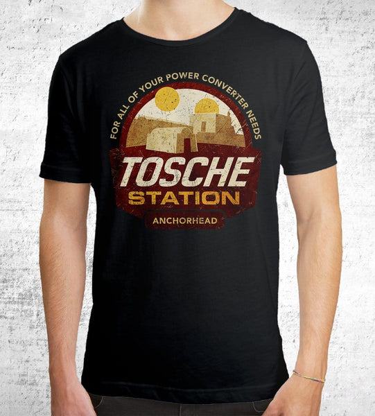 Tosche Station Men's Shirt by Cory Freeman Design - Pixel Empire