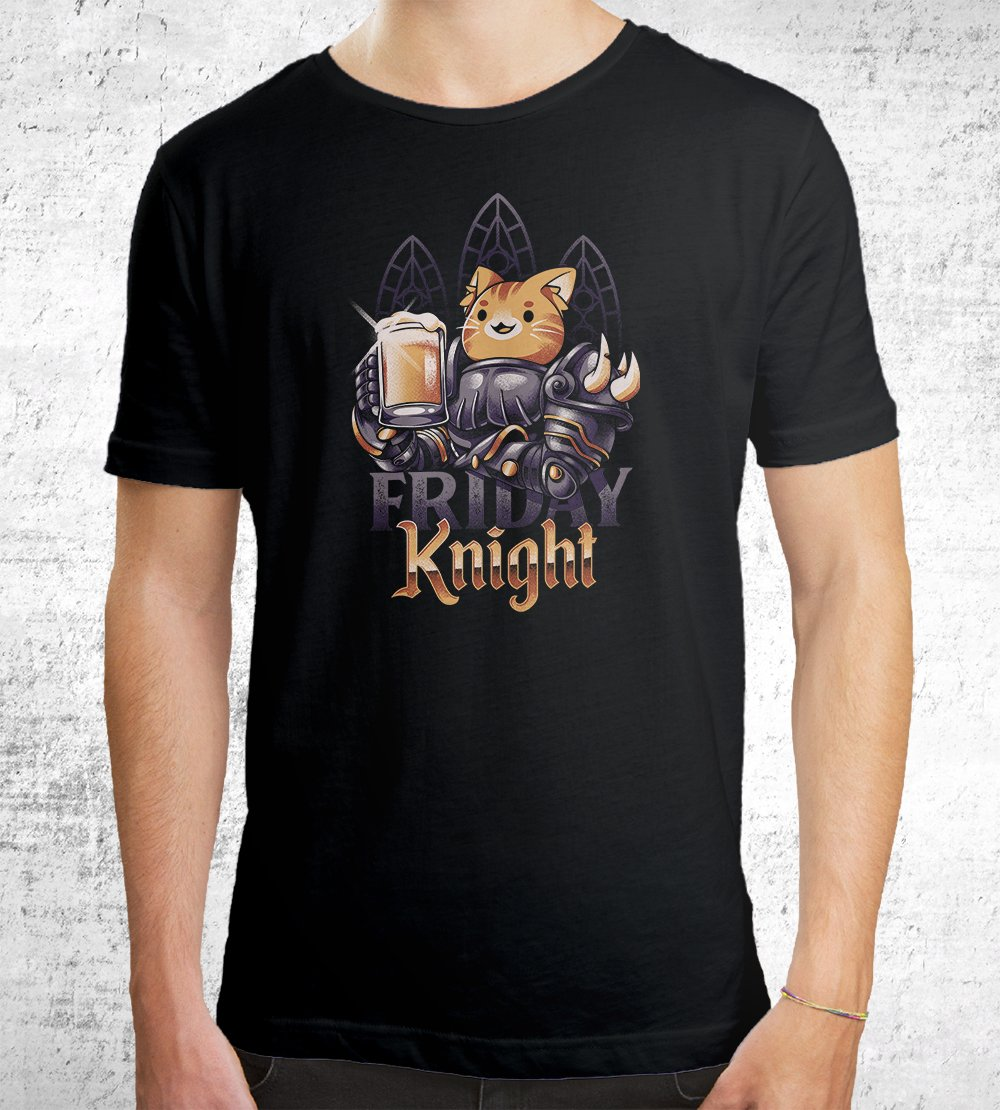 Friday Knight T-Shirts by Ilustrata - Pixel Empire