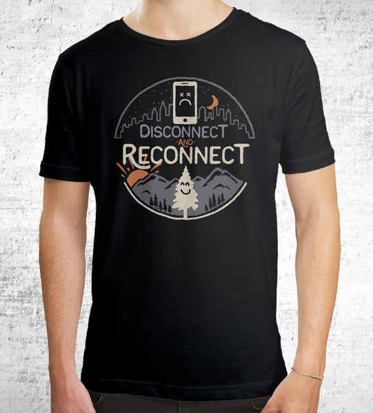 Reconnect Men's Shirt by Rick Crane - Pixel Empire