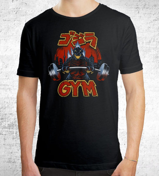 Zilla Gym Men's Shirt by Vincent Trinidad - Pixel Empire