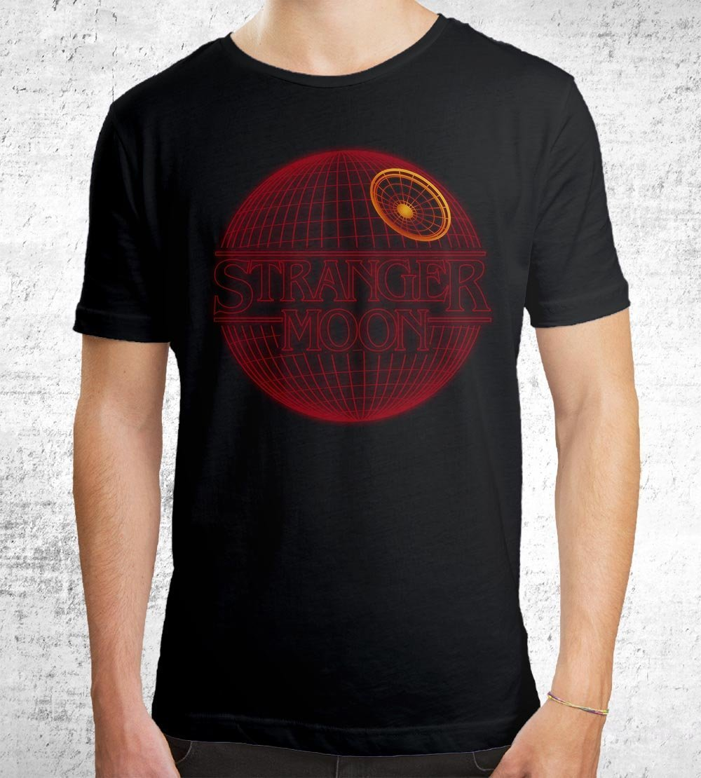 Stranger Moon T-Shirts by Dr. Monekers - Pixel Empire