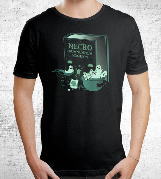 Necro Nomnomnomicon Men's Shirt by Anna-Maria Jung - Pixel Empire