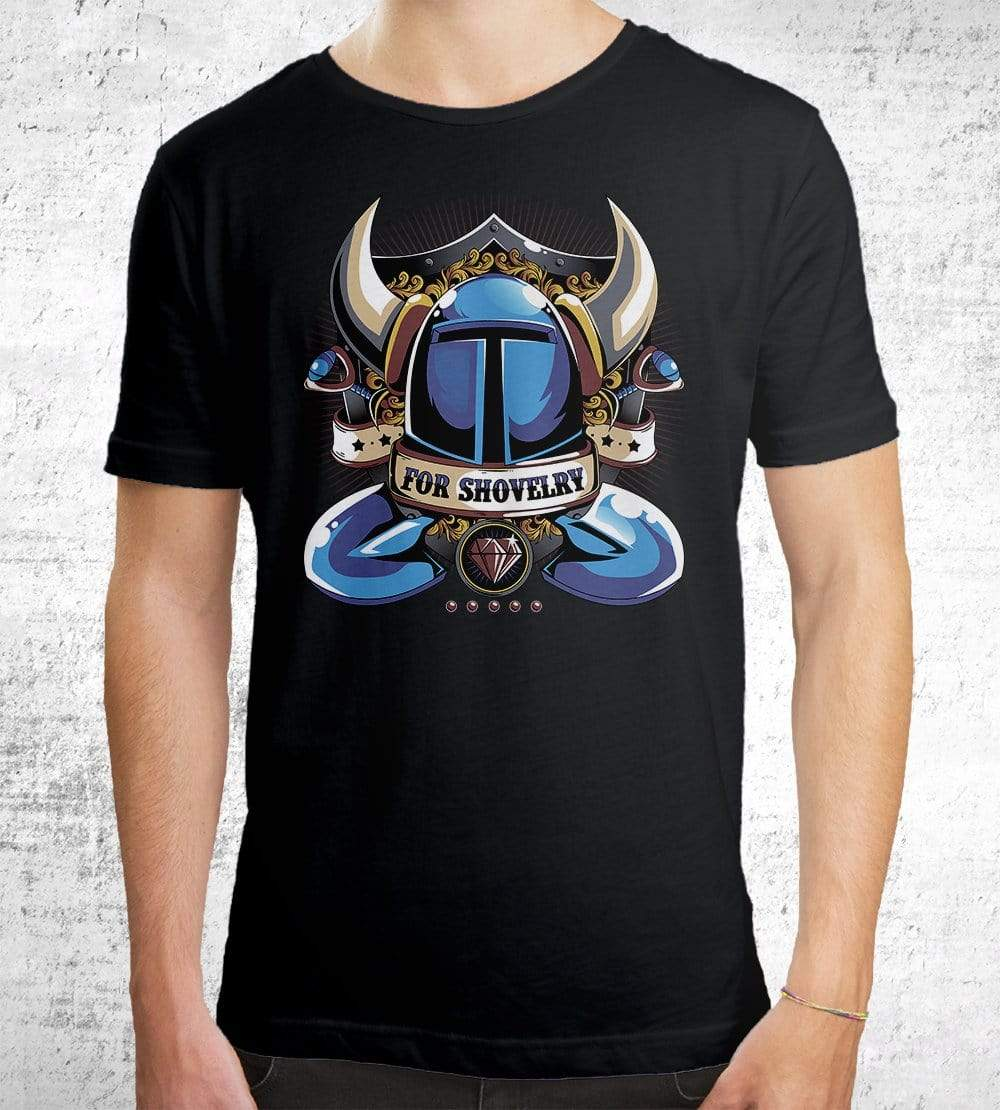 For Shovelry T-Shirts by Typhoonic - Pixel Empire