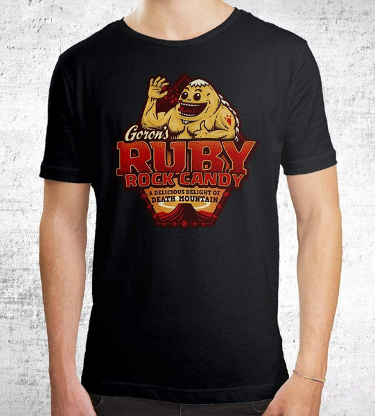 Goron Rock Candy T-Shirts by Cory Freeman Design - Pixel Empire
