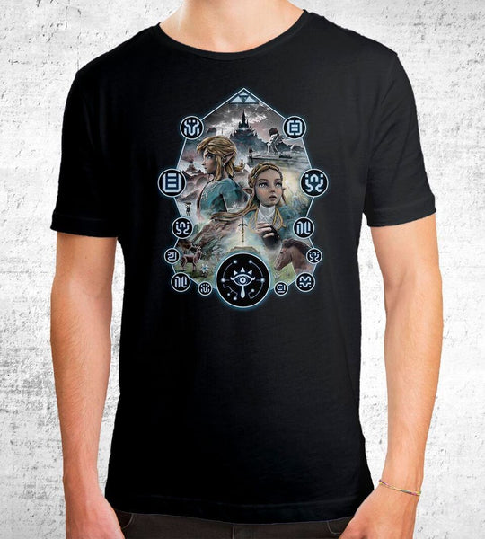 Breathe in Destiny Men's Shirt by Barrett Biggers - Pixel Empire