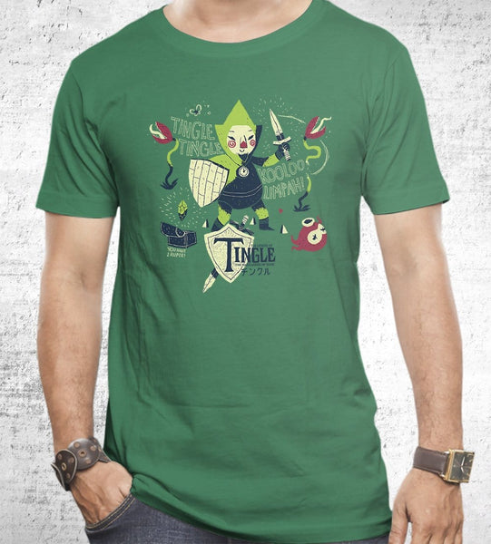 The Legend Of Tingle Men's Shirt by Louis Roskosch - Pixel Empire