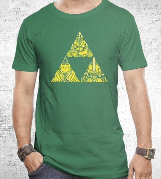Triforce Men's Shirt by COD Designs - Pixel Empire