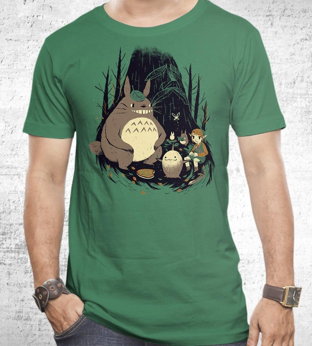 Spirits of the Forest T-Shirts by Louis Roskosch - Pixel Empire