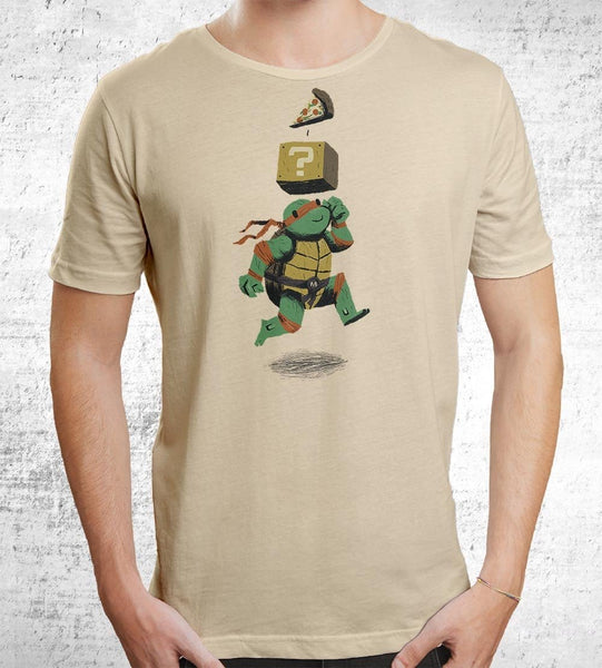 Pizza Power Up T-Shirts by Louis Roskosch - Pixel Empire