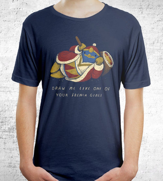 Dedede French T-Shirts by Louis Roskosch - Pixel Empire