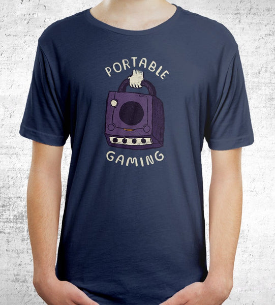 Portable Gaming T-Shirts by Louis Roskosch - Pixel Empire