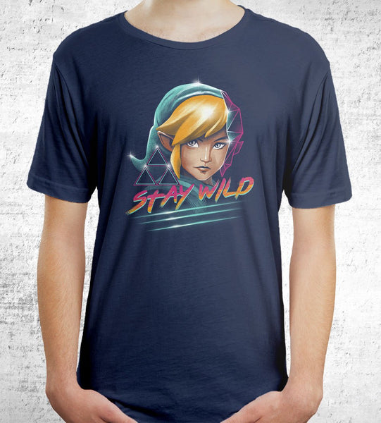 Stay Wild Men's Shirt by Vincent Trinidad - Pixel Empire