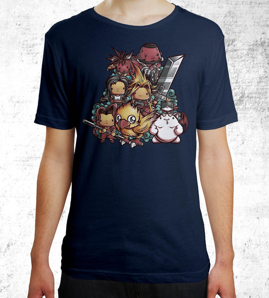 Cute Fantasy VII Men's Shirt- The Pixel Empire