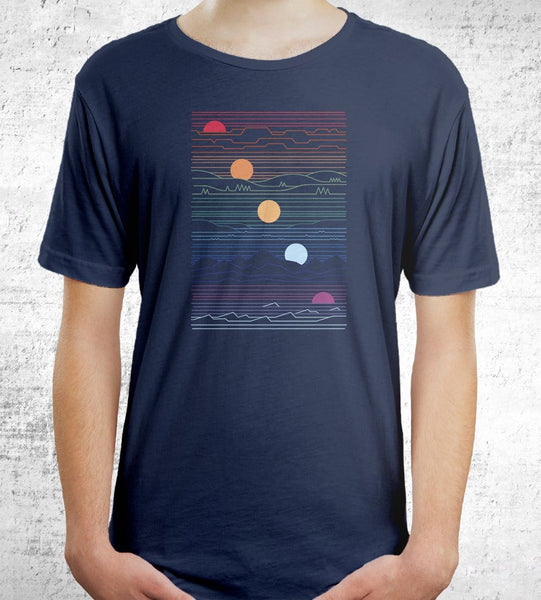 Many Lands Under One Sun Men's Shirt by Rick Crane - Pixel Empire