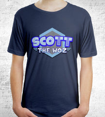 Scott The Woz Logo T-Shirts by Scott The Woz - Pixel Empire