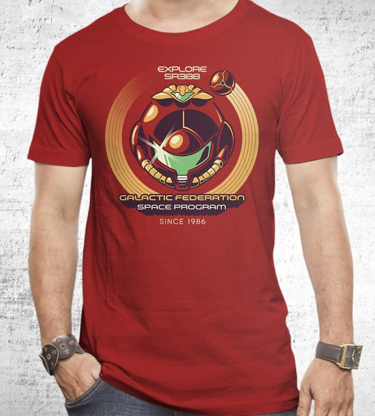 Galactic Federation T-Shirts by Ilustrata - Pixel Empire