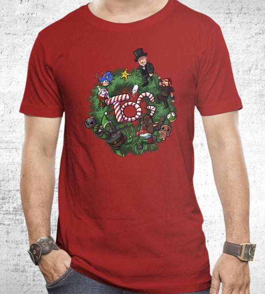 Christmas Wreathe Men's Shirt by Tear of Grace - Pixel Empire