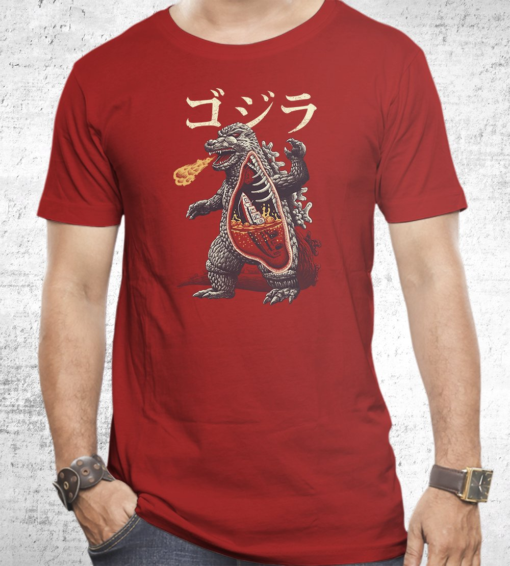 Kaiju Anatomy T-Shirts by Vincent Trinidad - Pixel Empire