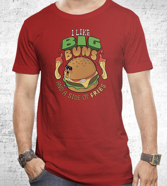 I Like Big Buns T-Shirts by Anna-Maria Jung - Pixel Empire