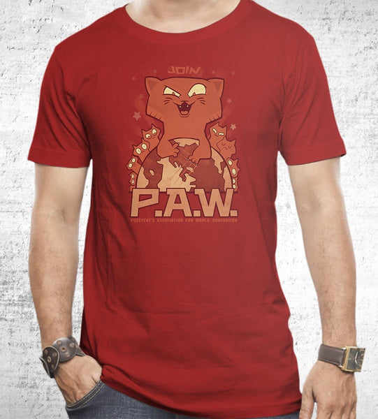 P.a.w. T-Shirts by Anna-Maria Jung - Pixel Empire