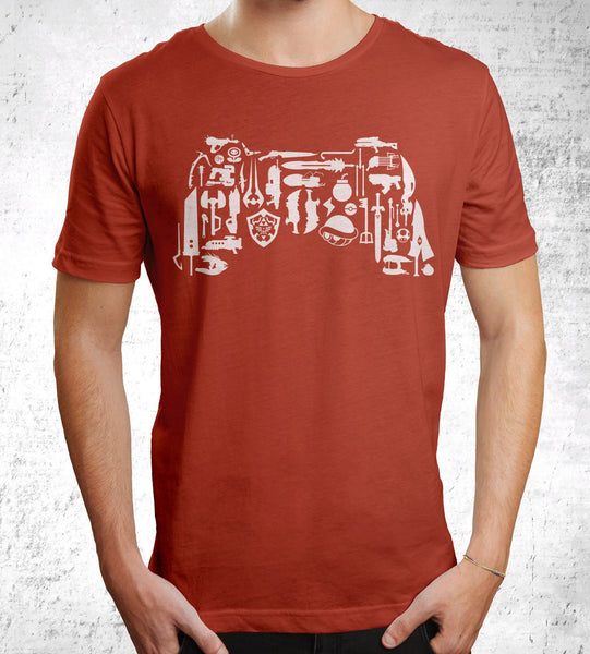 Choose Your Weapon Men's Shirt by The Pixel Empire - Pixel Empire