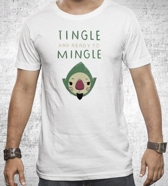 Tingle And Ready To Mingle Men's Shirt by Louis Roskosch - Pixel Empire