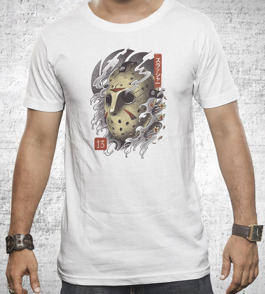 Oni Jason Mask Men's Shirt by Vincent Trinidad - Pixel Empire