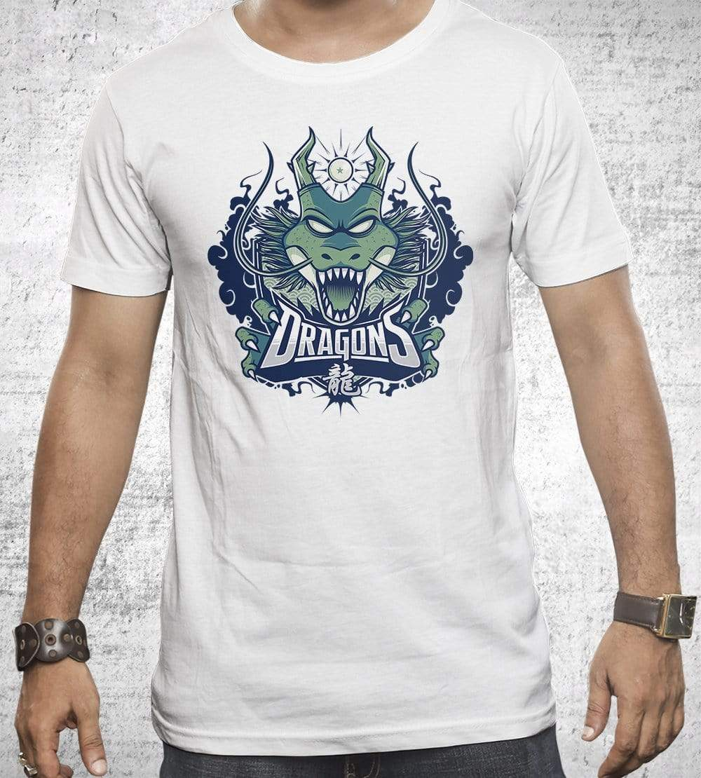 Dragons Team T-Shirts by StudioM6 - Pixel Empire