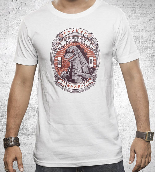 Monster Fight Club Men's Shirt by Ilustrata - Pixel Empire