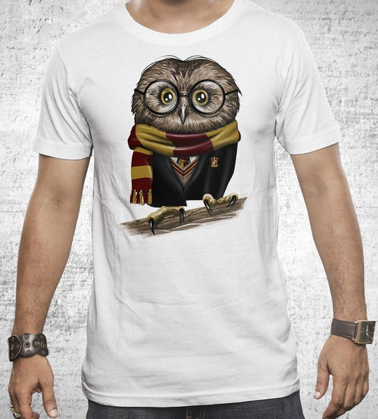 Owly Potter Men's Shirt by Vincent Trinidad - Pixel Empire