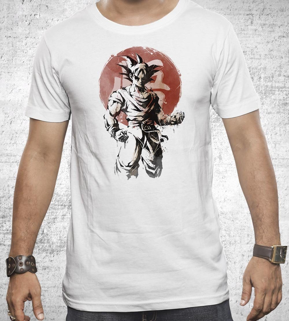 Saiyan Sun T-Shirts by Saqman - Pixel Empire