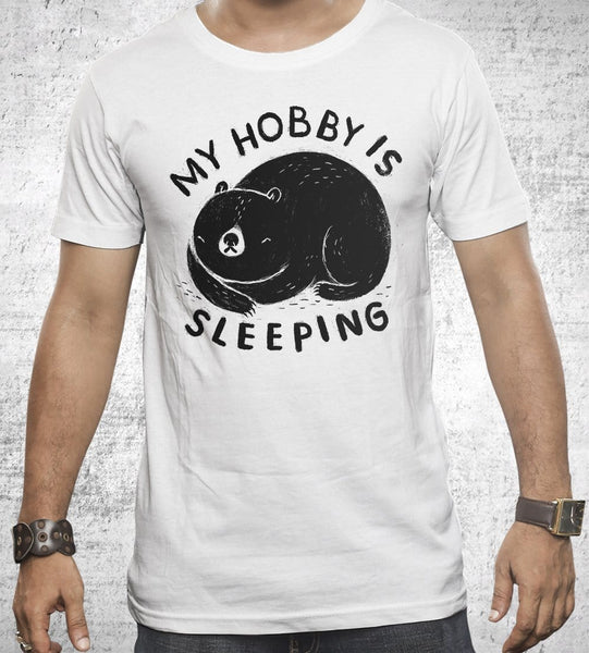 My Hobby Is Sleeping Men's Shirt by Louis Roskosch - Pixel Empire